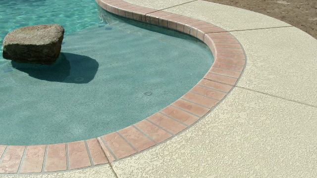 Cool Deck Travertine New Pool Deck Repair Resurfacing Texas  Concrete Stamp Acrylic Lace